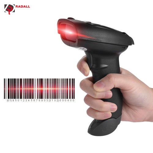 RADALL RD-300 Wireless Bluetooth Barcode Scanner 1D Code Barcode Scanner Support for Android IOS SystemComputer &amp; Stationery<br>RADALL RD-300 Wireless Bluetooth Barcode Scanner 1D Code Barcode Scanner Support for Android IOS System<br>