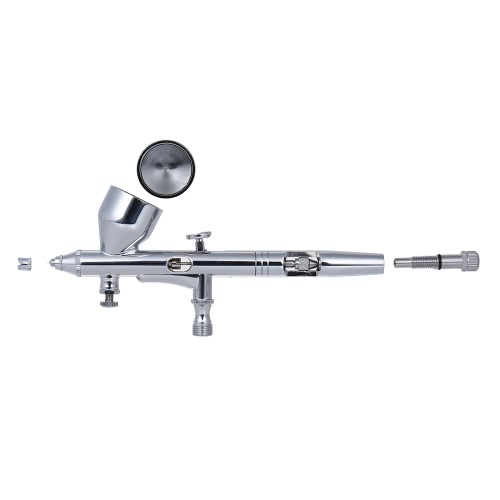 Gravity Feed Dual-action Airbrush Air Brush Kit Set Spray Gun with Air Hose 0.2mm/0.3mm/0.5mm Needle Nozzle 9cc Color Cup for ModeComputer &amp; Stationery<br>Gravity Feed Dual-action Airbrush Air Brush Kit Set Spray Gun with Air Hose 0.2mm/0.3mm/0.5mm Needle Nozzle 9cc Color Cup for Mode<br>