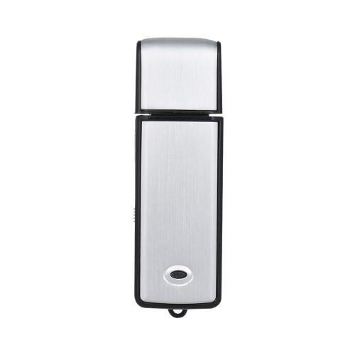 8GB USBデジタルオーディオボイスレコーダーUSBディスクフラッシュドライブメモリースティック18時間録画充電式オフィススクール