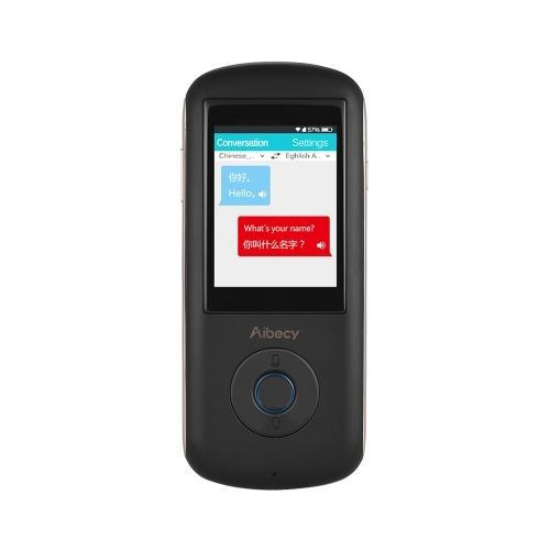 Aibecy A8 Интеллектуальный голос-переводчик в режиме реального времени 35язычная речь Интерактивный переводчик