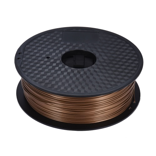 Color Optional PLA Filament 1kg/Roll 2.2lb 1.75mm for MakerBot Anet RepRap 3D Printer Pen GoldComputer &amp; Stationery<br>Color Optional PLA Filament 1kg/Roll 2.2lb 1.75mm for MakerBot Anet RepRap 3D Printer Pen Gold<br>