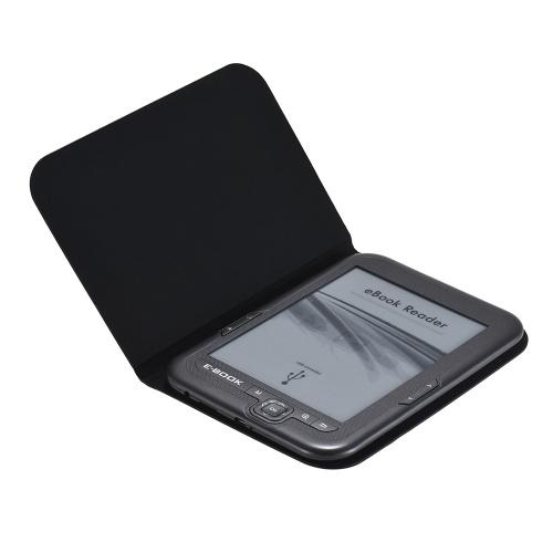 E-book Reader E-reader 6 '' E-ink Screen MP3-плеер поддерживает несколько языков