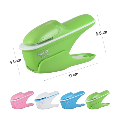 Hand-held Mini Safe Stapler without Staples Staple Free Stapleless 7 Sheets Capacity for Paper Binding Business Commercial Shop ScComputer &amp; Stationery<br>Hand-held Mini Safe Stapler without Staples Staple Free Stapleless 7 Sheets Capacity for Paper Binding Business Commercial Shop Sc<br>