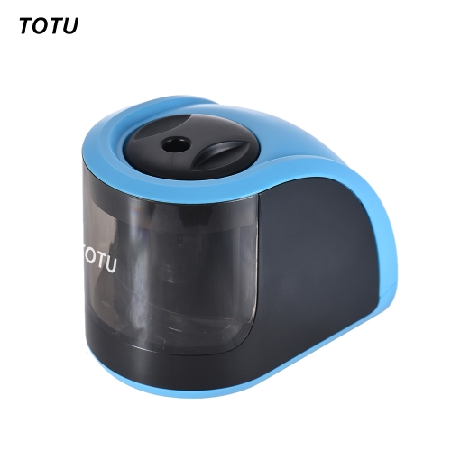 TOTU JD3006-1 Automatic 1-hole Electric Pencil Sharpener Battery or USB Cable Operated for Home School Student Kids ChildrenComputer &amp; Stationery<br>TOTU JD3006-1 Automatic 1-hole Electric Pencil Sharpener Battery or USB Cable Operated for Home School Student Kids Children<br>