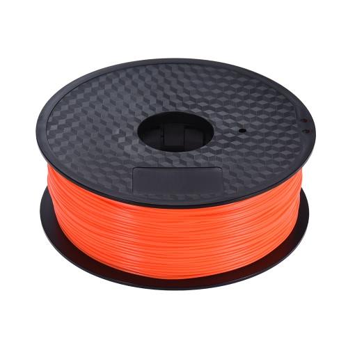 Color Optional PLA Filament 1kg/Roll 2.2lb 1.75mm for MakerBot Anet RepRap 3D Printer Pen Fluo-OrangeComputer &amp; Stationery<br>Color Optional PLA Filament 1kg/Roll 2.2lb 1.75mm for MakerBot Anet RepRap 3D Printer Pen Fluo-Orange<br>