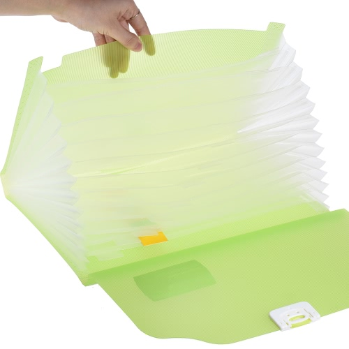 A4/Legal/Letter Size 13-Pocket Poly Expanding File Folder Organizer Jacket with Buckle Closure for Contract Tax Documents Bill StaComputer &amp; Stationery<br>A4/Legal/Letter Size 13-Pocket Poly Expanding File Folder Organizer Jacket with Buckle Closure for Contract Tax Documents Bill Sta<br>