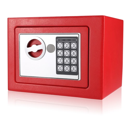 Electronic Digital Keypad Lock Safe Security Box All Steel for Home Office 9.05 * 6.69 * 6.69inchesComputer &amp; Stationery<br>Electronic Digital Keypad Lock Safe Security Box All Steel for Home Office 9.05 * 6.69 * 6.69inches<br>