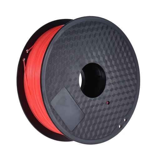 Color Optional PLA Filament 1kg/Roll 2.2lb 1.75mm for MakerBot Anet RepRap 3D Printer Pen Fluo-RedComputer &amp; Stationery<br>Color Optional PLA Filament 1kg/Roll 2.2lb 1.75mm for MakerBot Anet RepRap 3D Printer Pen Fluo-Red<br>