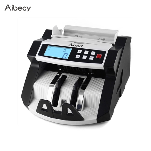 Aibecy Automatic Multi-Currency Cash Banknote Money Bill Counter Counting Machine LCD Display with UV MG Counterfeit DetectorComputer &amp; Stationery<br>Aibecy Automatic Multi-Currency Cash Banknote Money Bill Counter Counting Machine LCD Display with UV MG Counterfeit Detector<br>