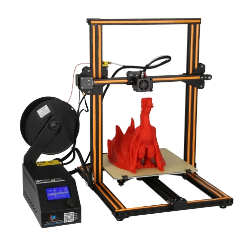 CR-10 3D DIY Printer 300 * 300 * 400mm Print Size Aluminum Frame with 200g Filament Supports PLA/ABS/TPU/Copper/Wood/Carbon FiberComputer &amp; Stationery<br>CR-10 3D DIY Printer 300 * 300 * 400mm Print Size Aluminum Frame with 200g Filament Supports PLA/ABS/TPU/Copper/Wood/Carbon Fiber<br>
