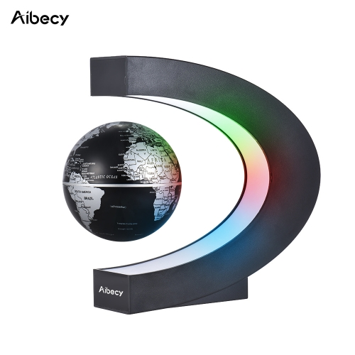 Aibecy Creative 3 Inch C Shaped Magnetic Levitation World MapComputer &amp; Stationery<br>Aibecy Creative 3 Inch C Shaped Magnetic Levitation World Map<br>