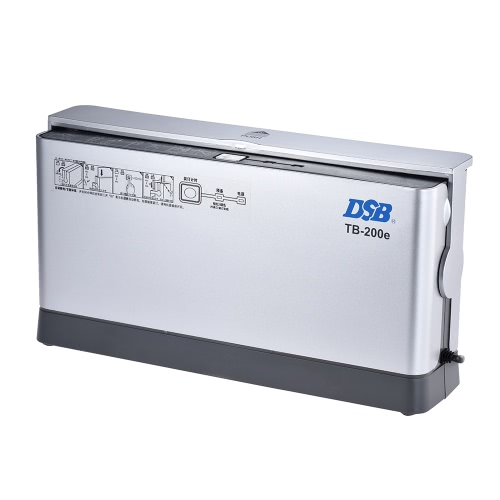 DSB TB-200E A4 Paper Book Thermal Binder Binding Machine 3min Warmup 1.5min Quick Binding with LED Indicator Cooling Rack Dust-proComputer &amp; Stationery<br>DSB TB-200E A4 Paper Book Thermal Binder Binding Machine 3min Warmup 1.5min Quick Binding with LED Indicator Cooling Rack Dust-pro<br>