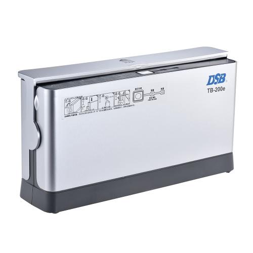 DSB TB-200E A4 Бумажная книга Термическая связующая машина 3min Warmup 1.5min Быстрое связывание со светодиодным индикатором Охлаждающая стойка Пылезащитная крышка Энергосберегающая EU Plug