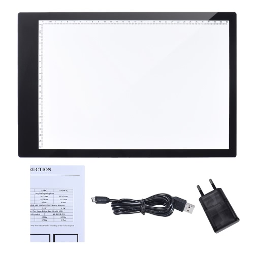 A4 35.2 * 24cm 15 inch LED Artist Stencil Board Tattoo Drawing Tracing Table Display Light Box Pad LED Copy Board Untra-thin DesigComputer &amp; Stationery<br>A4 35.2 * 24cm 15 inch LED Artist Stencil Board Tattoo Drawing Tracing Table Display Light Box Pad LED Copy Board Untra-thin Desig<br>