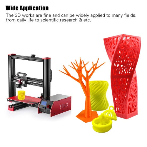Tevo Black Widow I3 3D Printer DIY Kit Aluminum Frame Large Printing Size 370 * 250 * 300mm High Accuracy Adopt for MKS MOSFET HeaComputer &amp; Stationery<br>Tevo Black Widow I3 3D Printer DIY Kit Aluminum Frame Large Printing Size 370 * 250 * 300mm High Accuracy Adopt for MKS MOSFET Hea<br>