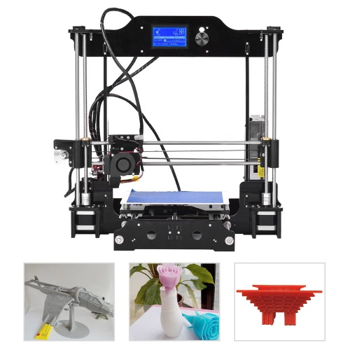 High Precision Desktop 3D Printer Kits DIY Self Assembly LCD12864 Screen Acrylic Frame Reprap Prusa i3 with TF Card Printing SizeComputer &amp; Stationery<br>High Precision Desktop 3D Printer Kits DIY Self Assembly LCD12864 Screen Acrylic Frame Reprap Prusa i3 with TF Card Printing Size<br>