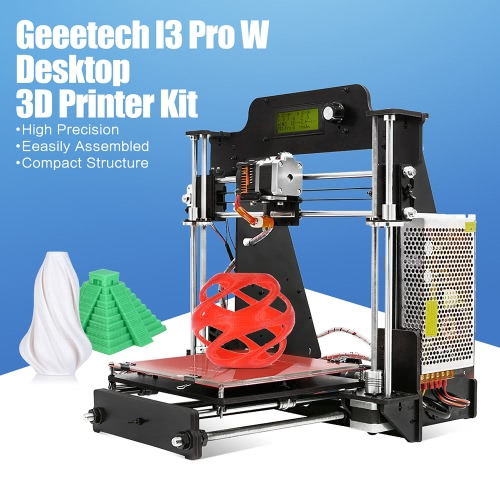 Geeetech I3 Pro W High Precision Desktop 3D Printer Reprap Prusa i3 DIY Self Assembly Kit Printing Size 200 * 200 * 180mm SupportComputer &amp; Stationery<br>Geeetech I3 Pro W High Precision Desktop 3D Printer Reprap Prusa i3 DIY Self Assembly Kit Printing Size 200 * 200 * 180mm Support<br>