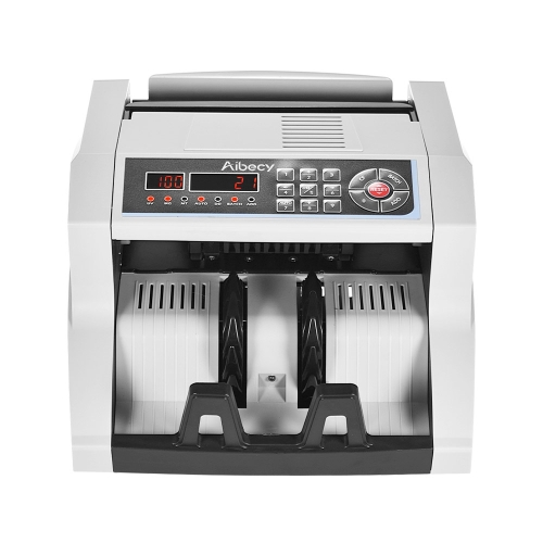 Aibecy Multi-currency Banknote Counter with UV/MG/MT/IR/DD Counterfeit Bill Detector Automatic Money Cash Counting Machine 14 KeysComputer &amp; Stationery<br>Aibecy Multi-currency Banknote Counter with UV/MG/MT/IR/DD Counterfeit Bill Detector Automatic Money Cash Counting Machine 14 Keys<br>
