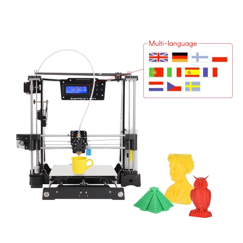 ZONESTAR P802C RepRap Prusa i3 3D Printer DIY Kit Acrylic Frame Auto Leveling with Multi-Languages 2004 LCD Display Heat Bed 220 *Computer &amp; Stationery<br>ZONESTAR P802C RepRap Prusa i3 3D Printer DIY Kit Acrylic Frame Auto Leveling with Multi-Languages 2004 LCD Display Heat Bed 220 *<br>