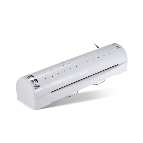 Aibecy A4 Photo/Paper/Document Hot Cold Laminator 2 Rollers Quick Warming Up Fast Laminating Speed Temperature Adjustable for ColdComputer &amp; Stationery<br>Aibecy A4 Photo/Paper/Document Hot Cold Laminator 2 Rollers Quick Warming Up Fast Laminating Speed Temperature Adjustable for Cold<br>