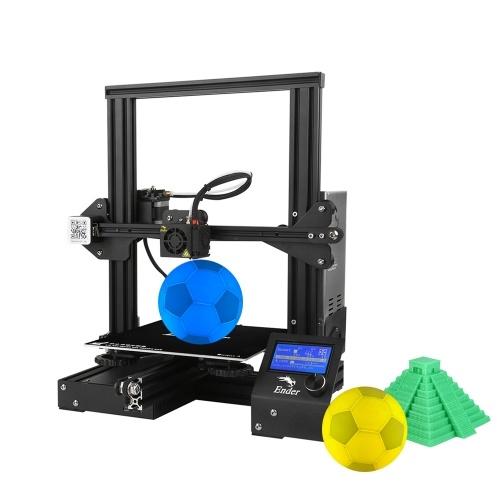 Creality 3D Ender-3 3D Printer Kit مع 5 أمتار الشعيرة