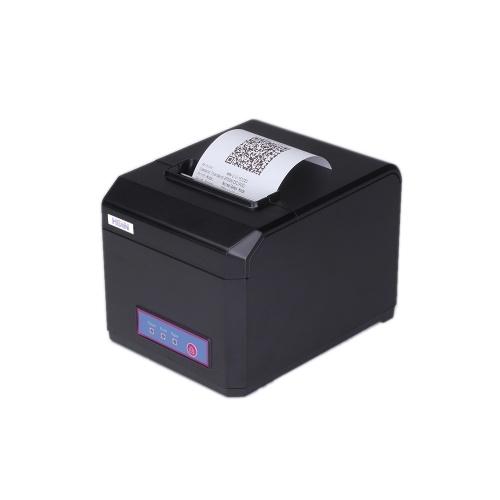 HOP-E801 80MM الطابعة الحرارية استلام الطابعة الطباعة دعم USB + WIFI
