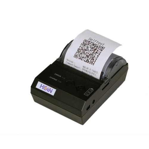 Портативный термоприемный принтер HOP-E200 USB-соединение