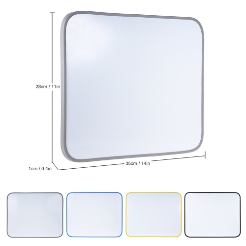 Dry Erase Magnetic Drawing Writing Board Whiteboard with Pen Holder Plastic Frame for Officer Students Kids 35 * 28cm / 14 * 11inComputer &amp; Stationery<br>Dry Erase Magnetic Drawing Writing Board Whiteboard with Pen Holder Plastic Frame for Officer Students Kids 35 * 28cm / 14 * 11in<br>