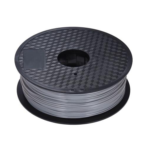 Color Optional PLA Filament 1kg/Roll 2.2lb 1.75mm for MakerBot Anet RepRap 3D Printer Pen GrayComputer &amp; Stationery<br>Color Optional PLA Filament 1kg/Roll 2.2lb 1.75mm for MakerBot Anet RepRap 3D Printer Pen Gray<br>