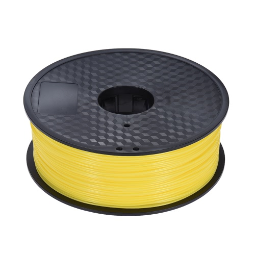 Color Optional ABS Plastic Filament 1kg/Roll 2.2lb 1.75mm for MakerBot Anet RepRap 3D Printer Pen YellowComputer &amp; Stationery<br>Color Optional ABS Plastic Filament 1kg/Roll 2.2lb 1.75mm for MakerBot Anet RepRap 3D Printer Pen Yellow<br>