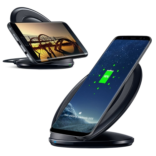 Qi Fast Charge Wireless Charger Charging Pad Stand Built-in Dual Coils for iPhone 8 iPhone X Samsung Galaxy S8/S8+/S7/S7 Edge/S6 ECellphone &amp; Accessories<br>Qi Fast Charge Wireless Charger Charging Pad Stand Built-in Dual Coils for iPhone 8 iPhone X Samsung Galaxy S8/S8+/S7/S7 Edge/S6 E<br>