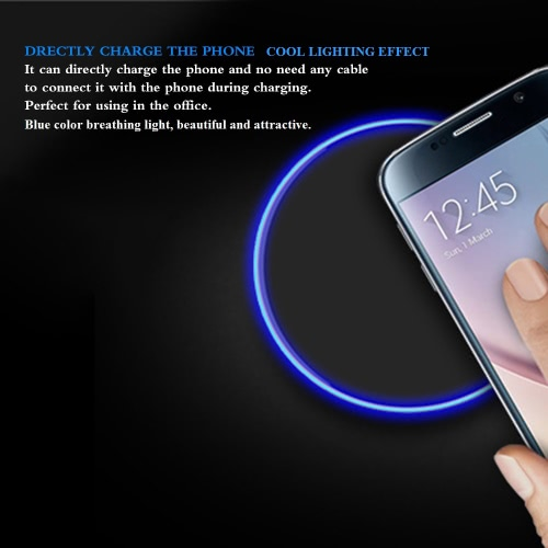 Qi Wireless Charger Charging Pad 5V/9V 1A~1.6ACellphone &amp; Accessories<br>Qi Wireless Charger Charging Pad 5V/9V 1A~1.6A<br>