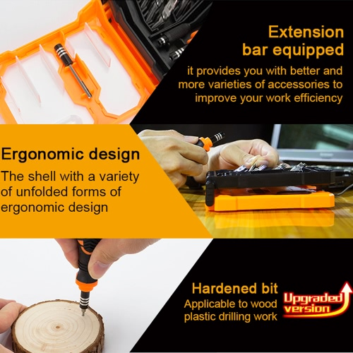 JAKEMY JM-8160 33 in 1 Portable Hardware Hand Tools Set Precision Screwdriver Set Multifunction Repair Tool KitCellphone &amp; Accessories<br>JAKEMY JM-8160 33 in 1 Portable Hardware Hand Tools Set Precision Screwdriver Set Multifunction Repair Tool Kit<br>