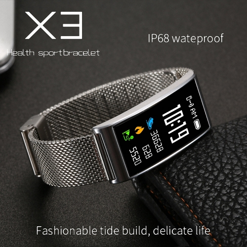 Microwear X3 Waterproof Smart Band - Metal BandCellphone &amp; Accessories<br>Microwear X3 Waterproof Smart Band - Metal Band<br>