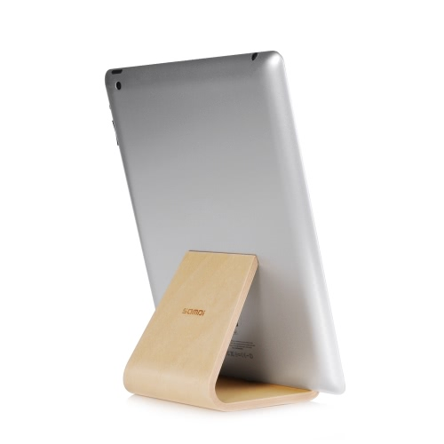 Samdi Birch Wooden Phone Tablet Stand Holder Dock Station Cradle for iPhone 7 Plus iPad mini Air Samsung S7 edge Eco-friendly MateCellphone &amp; Accessories<br>Samdi Birch Wooden Phone Tablet Stand Holder Dock Station Cradle for iPhone 7 Plus iPad mini Air Samsung S7 edge Eco-friendly Mate<br>