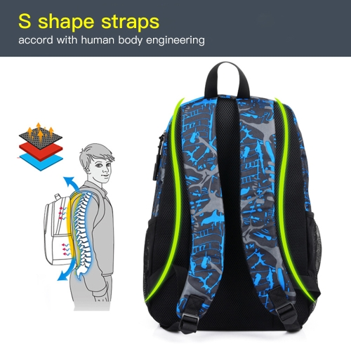 Fashion Teenagers Men Womens Pen Bag Backpack Luminous Student Cartoon School BagsApparel &amp; Jewelry<br>Fashion Teenagers Men Womens Pen Bag Backpack Luminous Student Cartoon School Bags<br>