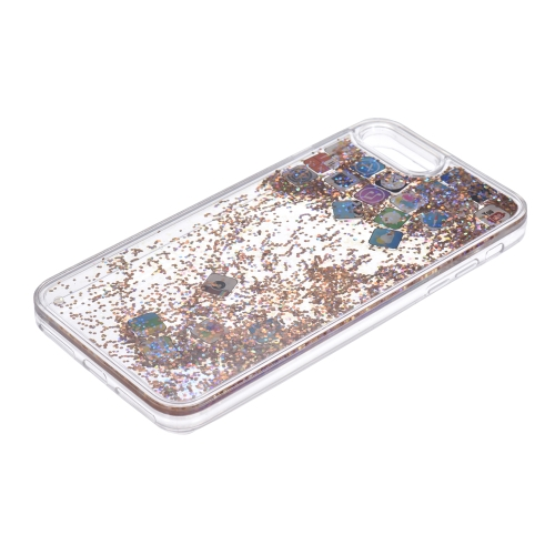 Quicksand APP Pattern Phone Case for iPhone 7 Plus iPhone 8 Plus Bling Cute Protective Phone Case Anti-dust Anti-scratchCellphone &amp; Accessories<br>Quicksand APP Pattern Phone Case for iPhone 7 Plus iPhone 8 Plus Bling Cute Protective Phone Case Anti-dust Anti-scratch<br>