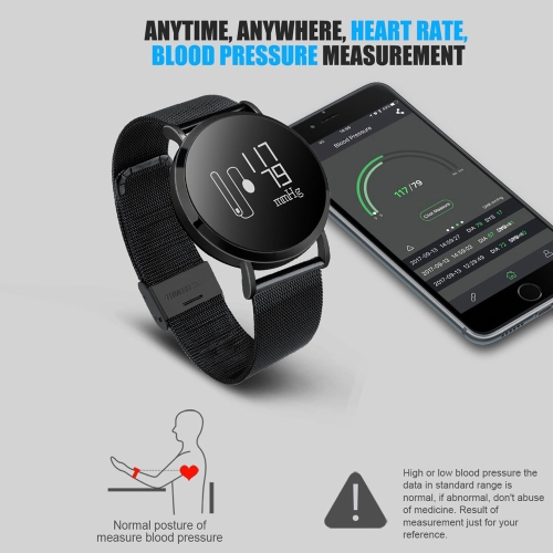 CV08 Heart-rate Blood pressure Smart Watch - Metal bandCellphone &amp; Accessories<br>CV08 Heart-rate Blood pressure Smart Watch - Metal band<br>