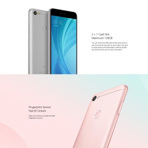 Xiaomi Redmi Note 5A 4G Smartphone Fingerprint  5.5 HD  Screen 3GB RAM+32GB ROMCellphone &amp; Accessories<br>Xiaomi Redmi Note 5A 4G Smartphone Fingerprint  5.5 HD  Screen 3GB RAM+32GB ROM<br>