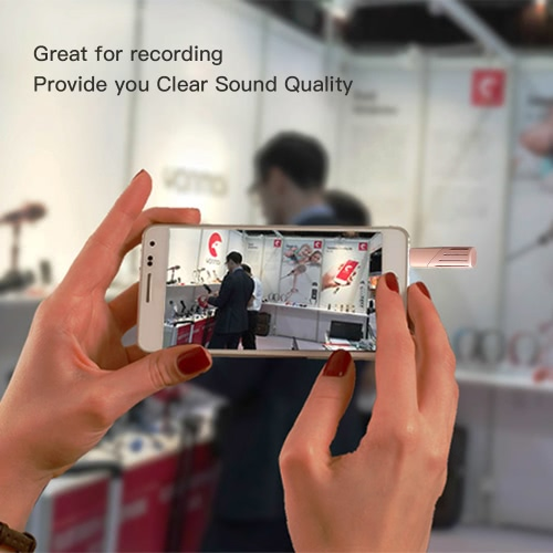 Yanmai Portable Mini Mobile Recording Microphone Condenser Rotatable 90° 3.5mm Audio Cell Phone Recording Mic for iPhone iPad AndrCellphone &amp; Accessories<br>Yanmai Portable Mini Mobile Recording Microphone Condenser Rotatable 90° 3.5mm Audio Cell Phone Recording Mic for iPhone iPad Andr<br>
