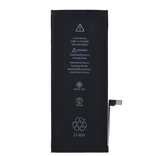 iPhone 6S Plus 2750mAh 3.8V携帯電話用大容量携帯電話リチャージバッテリー内蔵リチウム電池