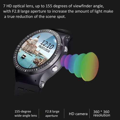 ZGPAX S99B Smartwatch 3G WCDMA Smart Watch Phone 1.33inch HD Full Round Touch Screen MTK6580M Quad-core 1.3GHz CPU Android 5.1 OSCellphone &amp; Accessories<br>ZGPAX S99B Smartwatch 3G WCDMA Smart Watch Phone 1.33inch HD Full Round Touch Screen MTK6580M Quad-core 1.3GHz CPU Android 5.1 OS<br>