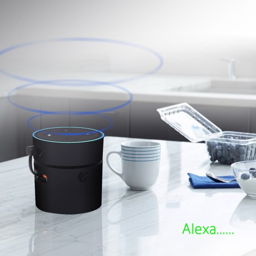 K12 10000mAh Power Bank External Backup Battery Fast Charger Dock for Amazon Alexa Echo Dot 2 5V2ACellphone &amp; Accessories<br>K12 10000mAh Power Bank External Backup Battery Fast Charger Dock for Amazon Alexa Echo Dot 2 5V2A<br>
