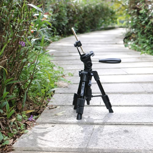 Mactrem Munchkin MT21 21-inches Smartphone Tabletop Tripod Desktop Mini Tripod with Pan Head Panoramic Quick Release Plate &amp; CarryCellphone &amp; Accessories<br>Mactrem Munchkin MT21 21-inches Smartphone Tabletop Tripod Desktop Mini Tripod with Pan Head Panoramic Quick Release Plate &amp; Carry<br>