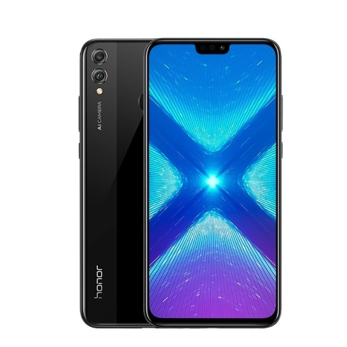Versão global Huawei Honor 8X Face ID Smartphone