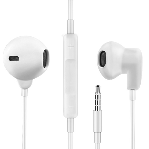 3.5mm Wired In-ear Earbuds with Microphone