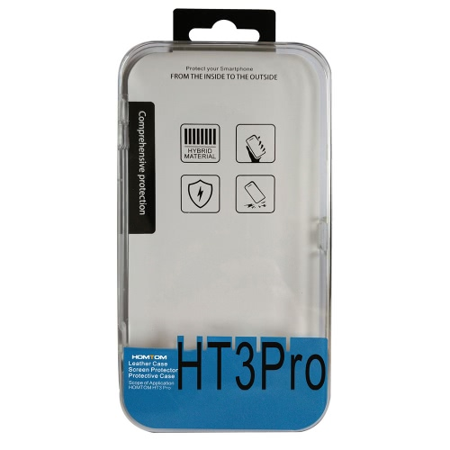 HOMTOM HT3 HT3 Pro 2-in-1 Case Soft Protective Cover + Tempered Glass Film Screen Protector for HOMTOM HT3 HT3 ProCellphone &amp; Accessories<br>HOMTOM HT3 HT3 Pro 2-in-1 Case Soft Protective Cover + Tempered Glass Film Screen Protector for HOMTOM HT3 HT3 Pro<br>