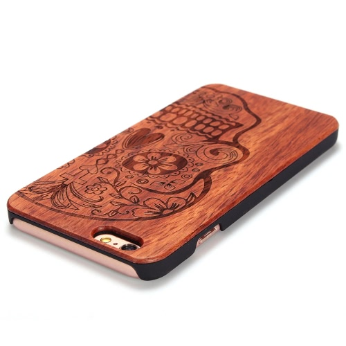 KKmoon Rosewood + PC Phone Case Protective Cover Shell for 5.5 Inches iPhone 6 Plus/6S Plus Eco-friendly Material Stylish PortableCellphone &amp; Accessories<br>KKmoon Rosewood + PC Phone Case Protective Cover Shell for 5.5 Inches iPhone 6 Plus/6S Plus Eco-friendly Material Stylish Portable<br>