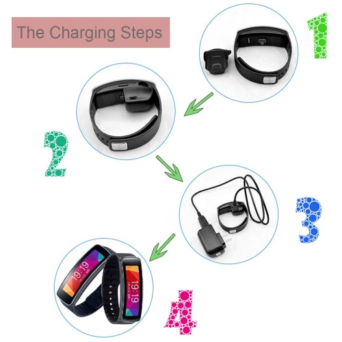 KKmoon Portable High-quality Replacement Charger Charging Cradle Dock with Micro USB Cable for Samsung Galaxy Gear Fit SM-R350 R35Cellphone &amp; Accessories<br>KKmoon Portable High-quality Replacement Charger Charging Cradle Dock with Micro USB Cable for Samsung Galaxy Gear Fit SM-R350 R35<br>