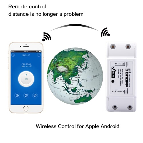 SONOFF 10A DIY Smart WiFi General Modification Remote Control Power Shut with Smart APPCellphone &amp; Accessories<br>SONOFF 10A DIY Smart WiFi General Modification Remote Control Power Shut with Smart APP<br>